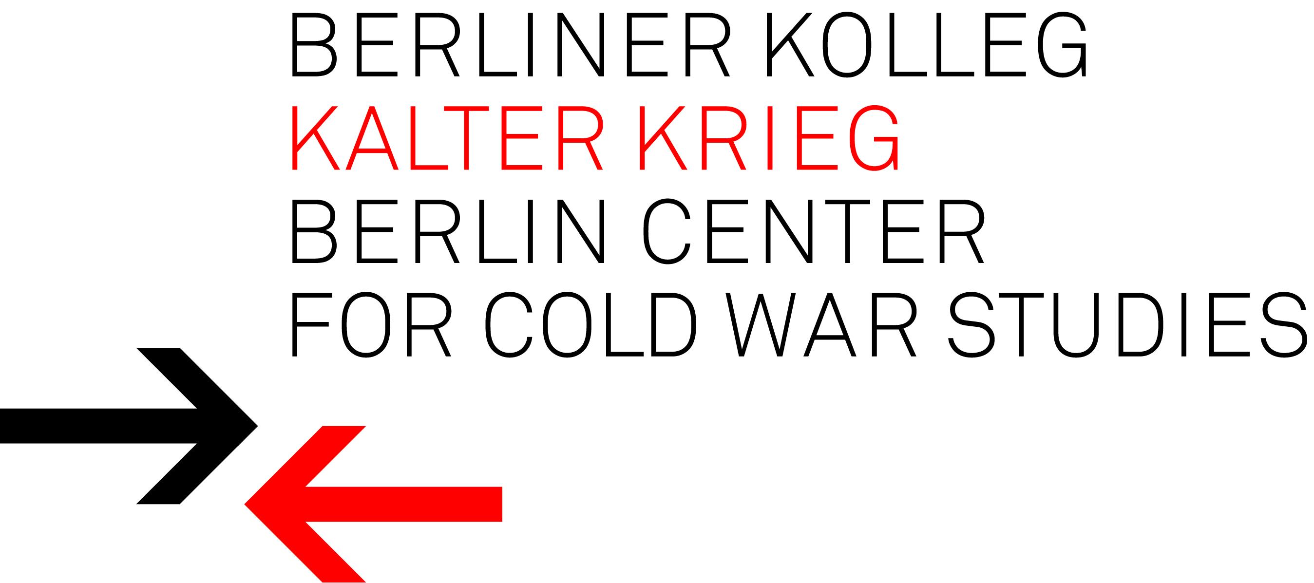 Logo: Berliner Kolleg Kalter Krieg