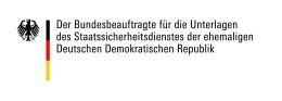 Logo: Bundesbeauftragte für die Unterlagen der Stasi der emehaligen DDR (BStU)