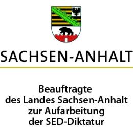 Logo: Die Beauftragte des Landes Sachsen-Anhalt zur Aufarbeitung der SED-Diktatur