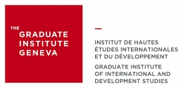 Logo: Graduate Insitute Geneva, Graduate Institue of International and Development Studies