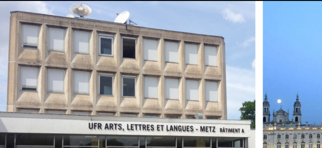 Photo: Metz and University, by Centre d'Etudes Germaniques Interculturelles de Lorraine (CEGIL), Université de Lorraine