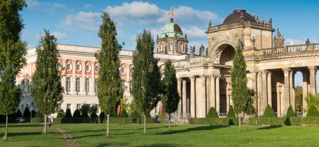 Photo: Aussenansicht (c) Historisches Institut Universität Potsdam