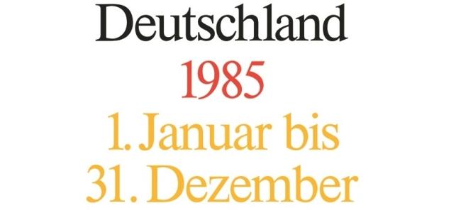 Photo: Akten zur Auswärtigen Politik der Bundesrepublike Deutschland (1985), Institut für Zeitgeschichte