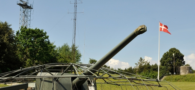 Photo: Kanone / Cannon (c) Cold War Museum Langelandsfort