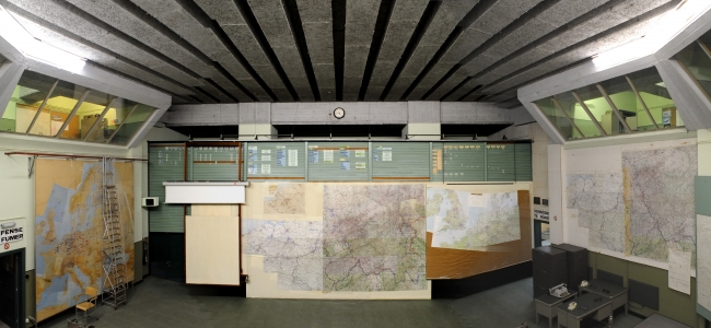 Photo: Operations Room (c) Command Bunker Kemmel