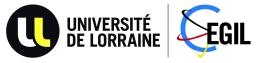 Logo: Université de Lorraine and Centre d'Etudes Germaniques Interculturelles de Lorraine (CEGIL)