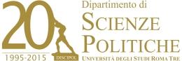 Logo: 20 Jahre Dipartimento di Scienze Politiche (Università Roma Tre)