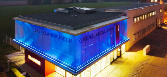 Photo: Grenzlandmuseum Nachts (c) Grenzlandmuseum Eichsfeld